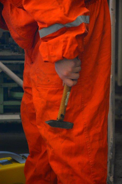 welder's job