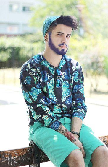 barba albastruie