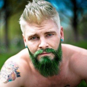 barba rock verde