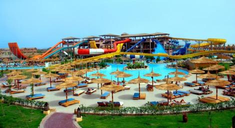 Jungle Aqua Park Hotel, Hurghada, Egypt