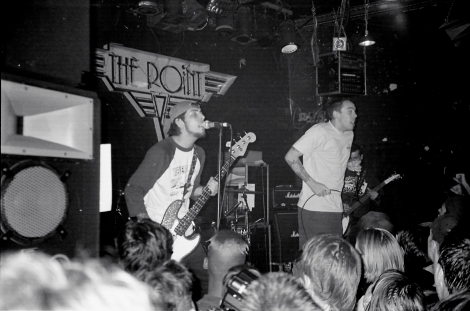 Suicide Machines at The Point in Little Five Points, Atlanta, GA in 1998