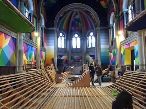biserica psihedelica de skate