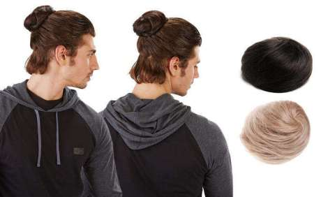 Groupon – Clip In Man Bun 2